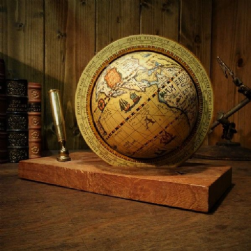 World Globe Pen Holder